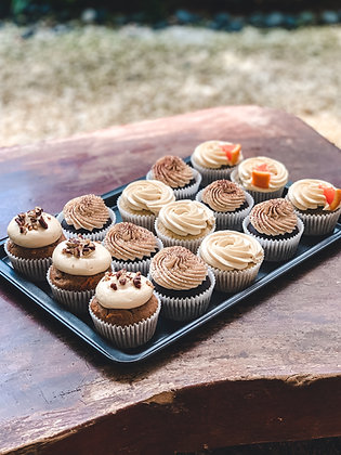 Cupcakes - Mix of 3 Flavours