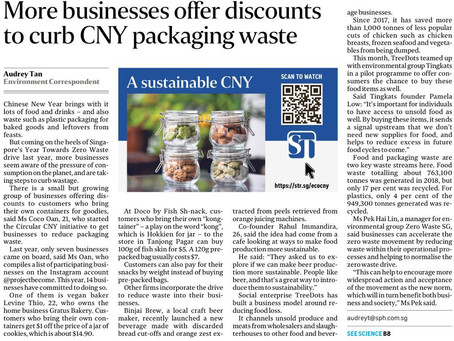 Featured: Straits Times Feature for Circular CNY