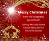 Christmas Greeting to the Allegheny Synod