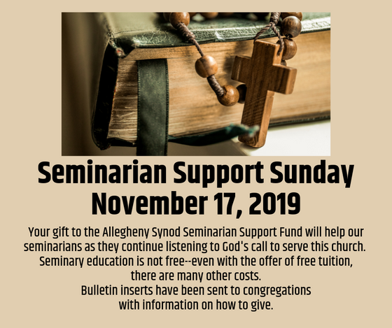 Seminarian Support Sunday