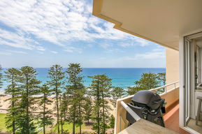 Manly Beach views from level 12