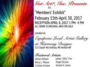Art Exhibit at the Harmony Designs' Equipoise Local Artist Gallery