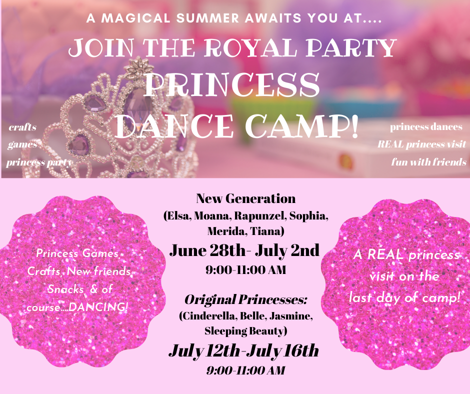 virtual princess camp