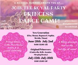 virtual princess camp