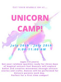 Unicorn Camp Poster