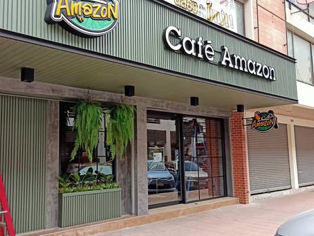 บริษัทห้างร้าน : ร้านกาแฟอเมซอน รังสิต จังหวัดปทุมธานี