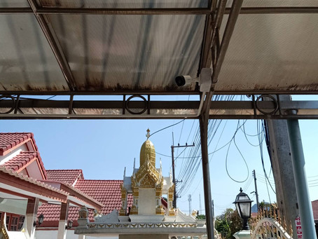 บ้านพักอาศัย : บ้านคุณกัน หมู่บ้านราชพฤกษ์ อ.พระพุทธบาท จ.สระบุรี