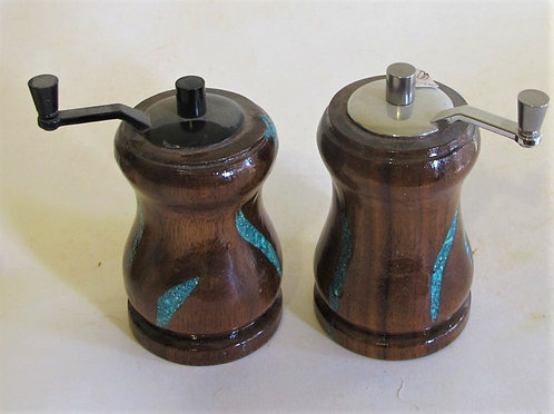 """Pepper Mill/Salt Shaker Set 4"""""""
