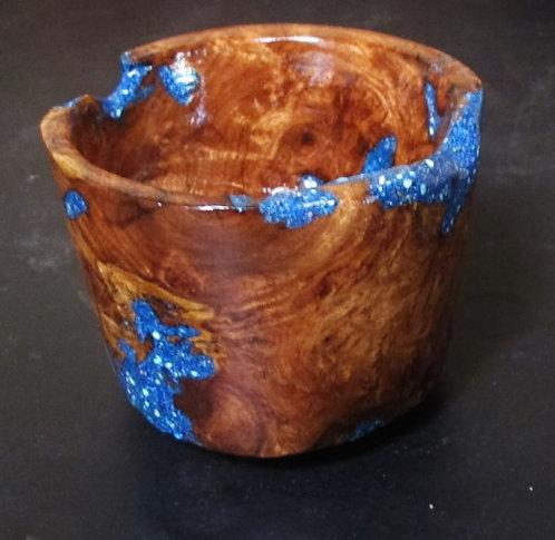 Mesquite Burl Wood Bowl