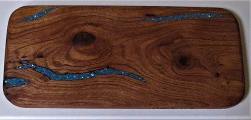 Handcrafted Wooden Cheese Board**