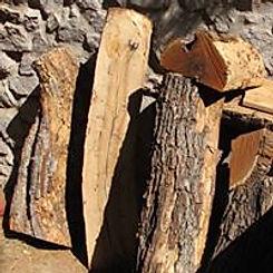 Half Cut Mesquite Logs