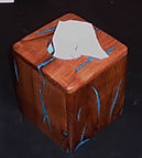 Handcrafted Wooden Gifs~Tissue Box Cover