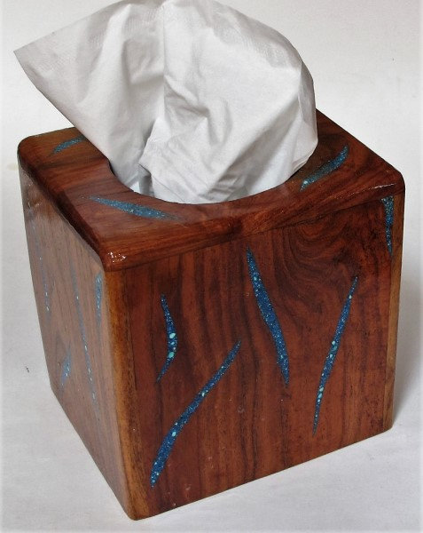 Handcrafted Wooden Tissue Cover
