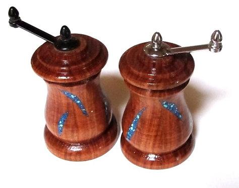 """Salt & Pepper Mill Set Mesquite 4"""""""