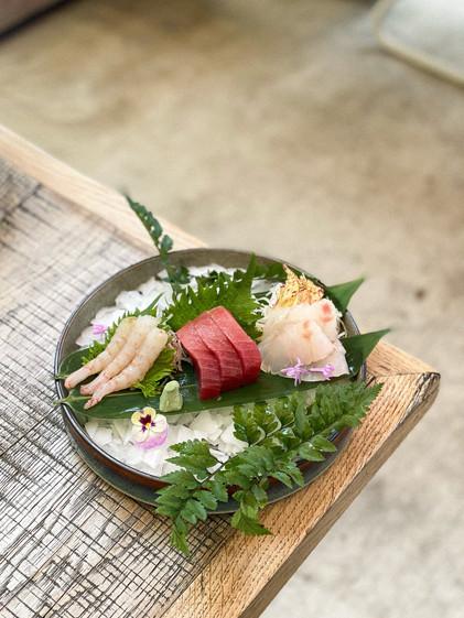 Sashimi - Thon - Loup - Crevette