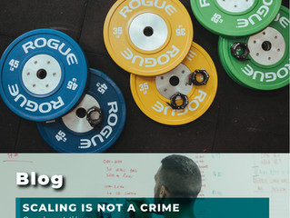 SCALING IS NOT A CRIME!