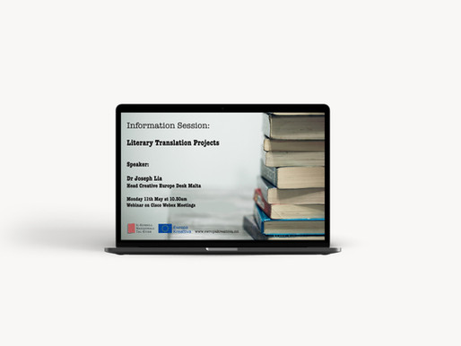 Information session - Literary Translation projects