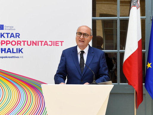 Creative Europe Desk Malta aims at bolstering accessibility to Creative Europe Funding
