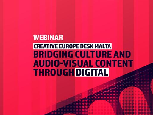 Webinar - Bridging Culture & Audiovisual Content Through Digital