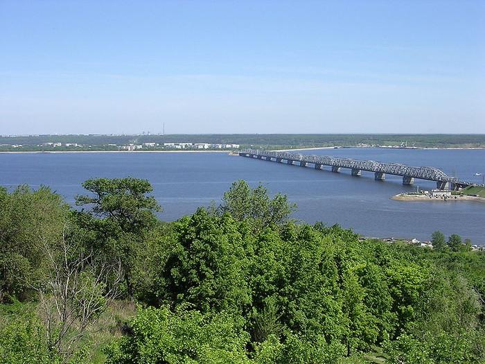Volga River at Ulyanovsk