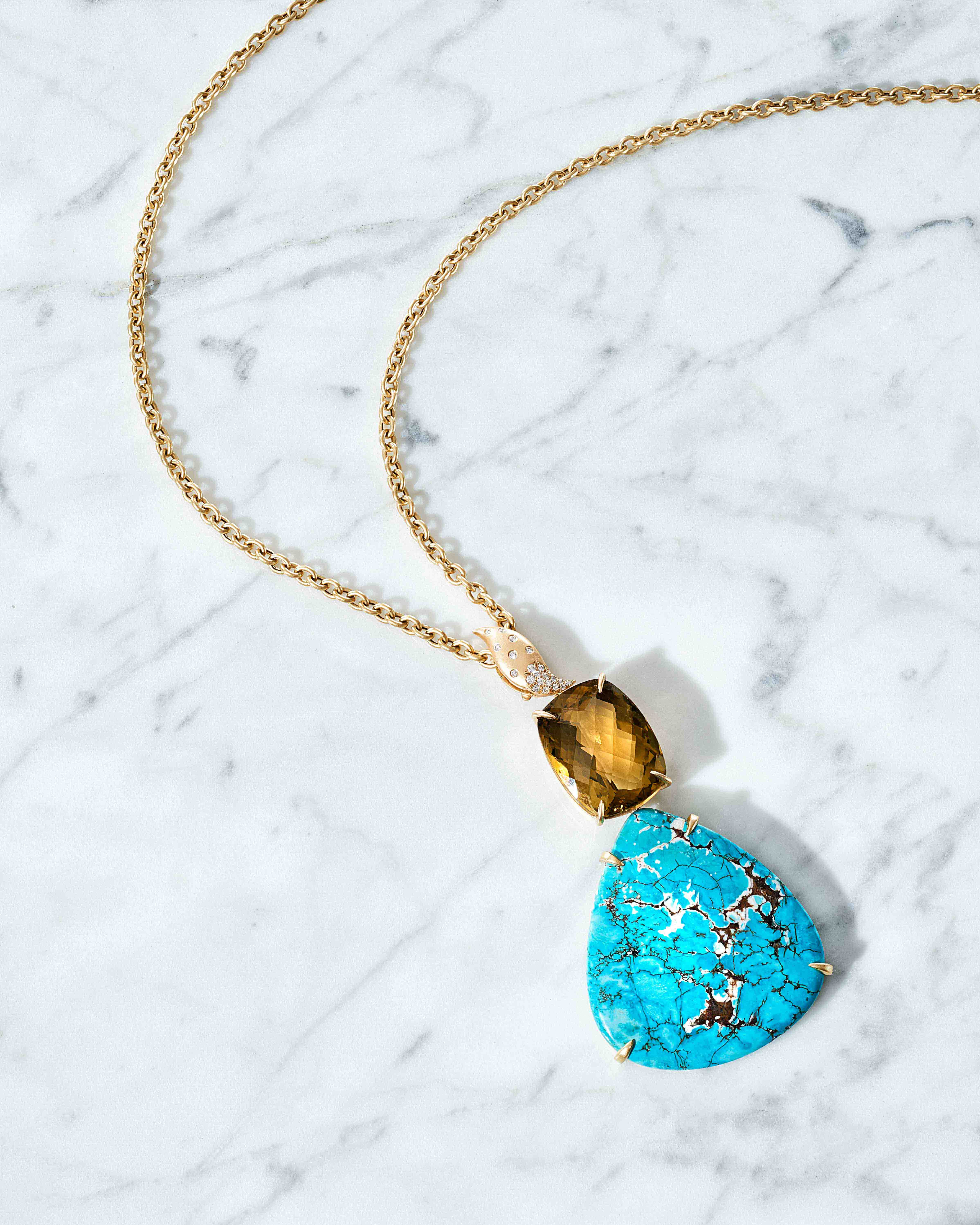 TURQUOISE_AMBER_NECKLACE