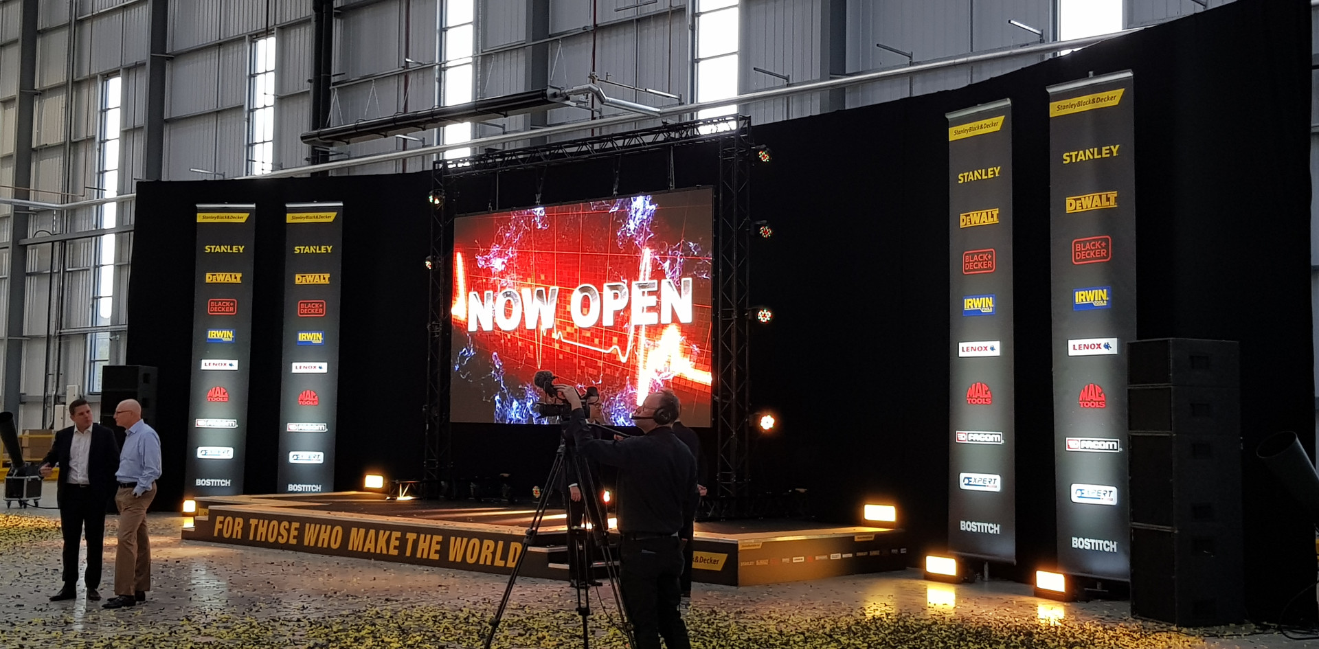 New Building Launch