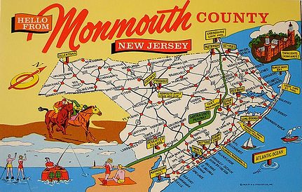 Monmouth County Map