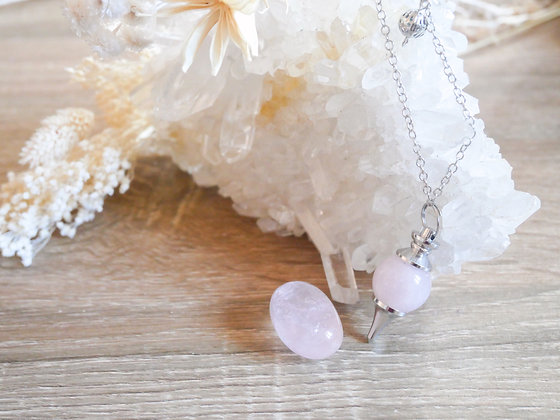 Pendule Quartz rose