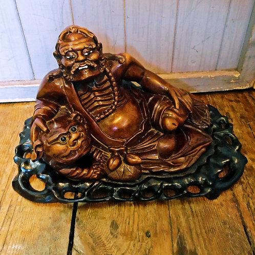 Oriental Carved Figure