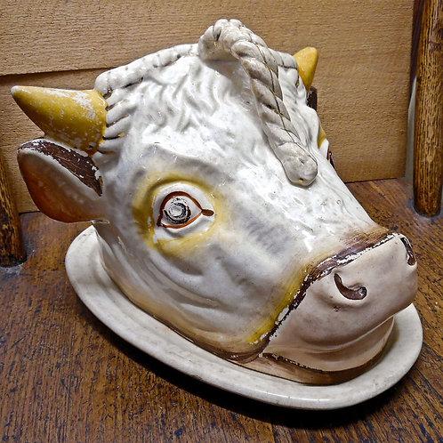 Staffordshire Bull Cheese Dish