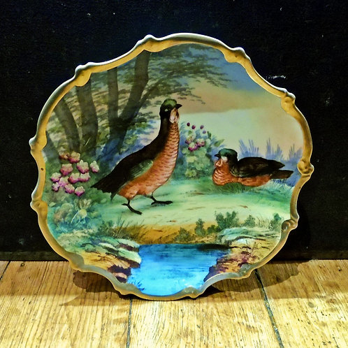 Pair Of Antique Wall Plates