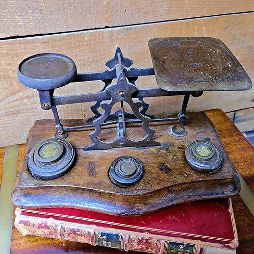 Antique Postal Scales