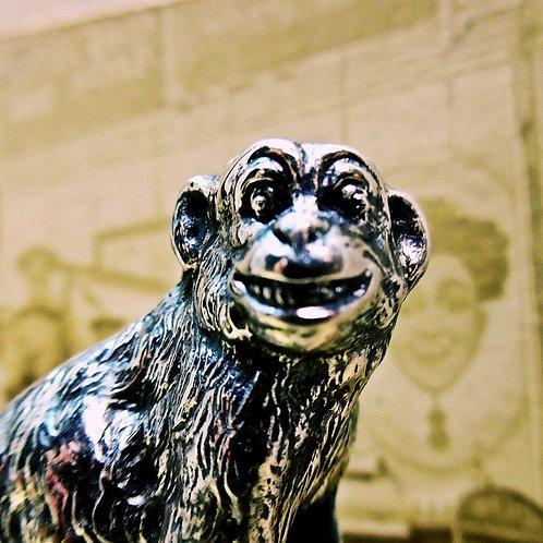 Edwardian Silver Monkey