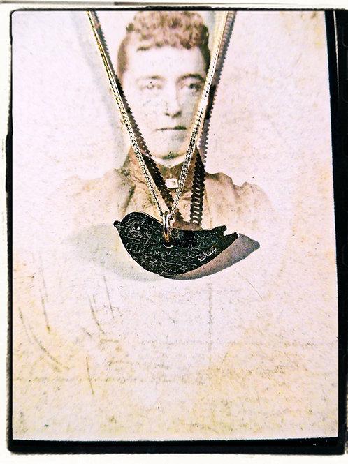Gold Bird Necklace