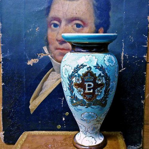 Victorian Doulton Lambeth Vase