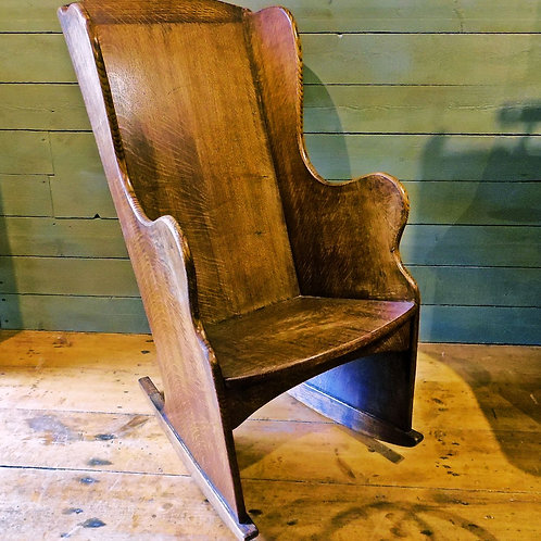 Antique Lambing Chair