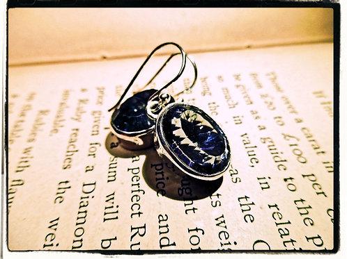 Silver & Mystic Topaz Earrings