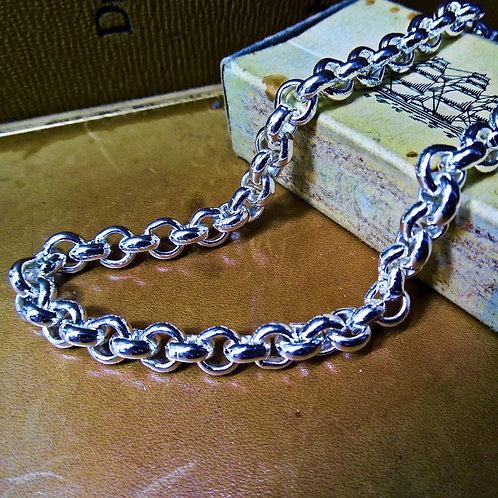 Heavy Silver Belcher Chain