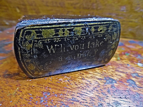 Antique Novelty Snuff Box