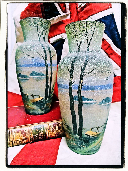 Pair Of Vintage French Vases