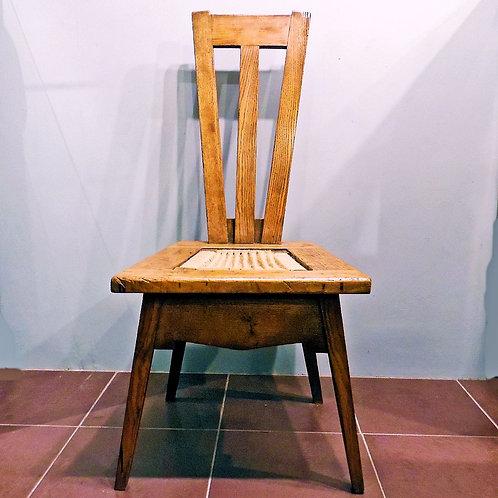 Leonard Wybund Arts & Crafts Oak Chair