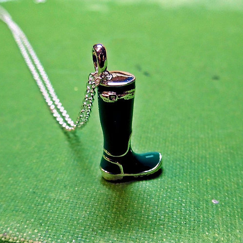 "Silver ""Welly"" Necklace"