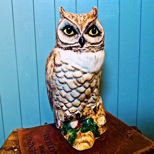 Babbacombe Pottery Owl