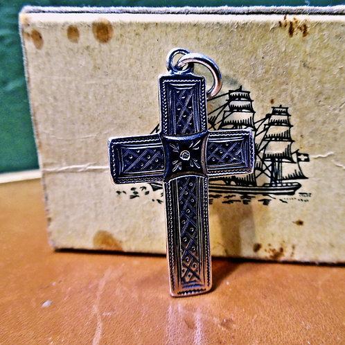 Victorian Silver Cross