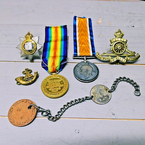 WWI Collection Of Items
