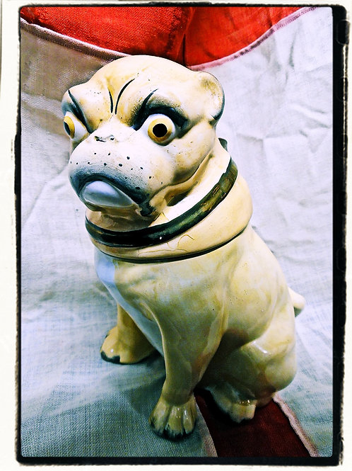 Pug Dog Jar