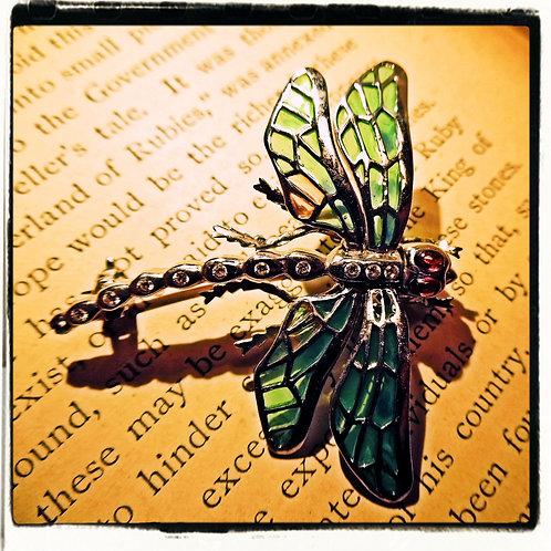 Dragonfly Brooch / Pendant