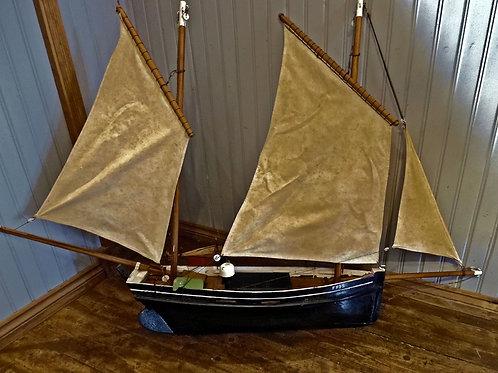 Vintage Model Lugger Ship