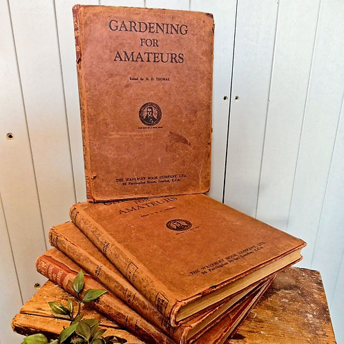Set Of Four Gardening For Amateurs Books