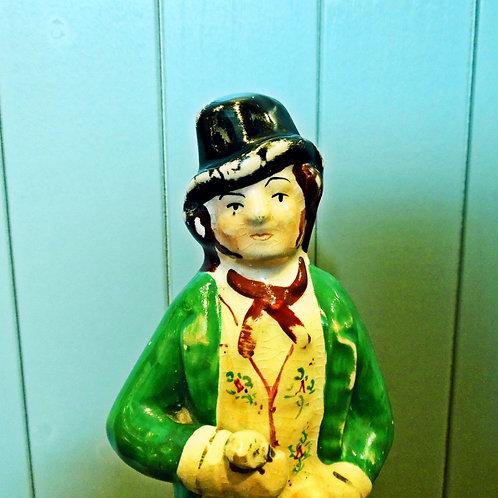 Victorian Staffordshire'Temperance' Figure